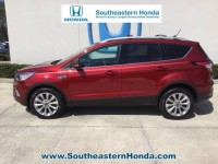 Used, 2018 Ford Escape Titanium, White, H40792A-1