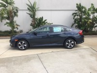 Used, 2019 Honda Civic LX, Blue, H37052A-1