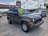 Used, 2006 Jeep Liberty Sport, Green, 1437-1