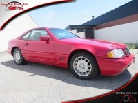 Used, 1997 Mercedes-benz Sl-class SL320 Roadster, Red, 150283-3-1