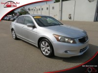 Used, 2010 Honda Accord Sedan EX-L V6, Silver, 008116-2-1