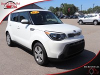 Used, 2014 Kia Soul Base, White, 001272-2-1