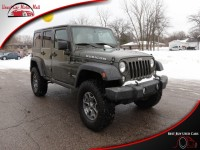 Used, 2015 Jeep Wrangler Unlimited Rubicon 4WD, Tan, 742422-1