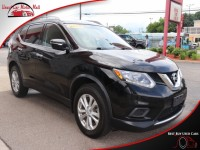 Used, 2015 Nissan Rogue SV AWD, Black, 503888-1