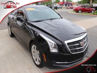 Used, 2016 Cadillac ATS Sedan Luxury Collection RWD, Black, 100666-2-1