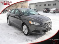Used, 2016 Ford Fusion S Hybrid, Gray, 250837-1