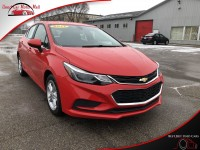 Used, 2017 Chevrolet Cruze Hatchback LT, Red, 594204-1