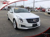 Used, 2018 Cadillac ATS Sedan 3.6L Premium Luxury AWD, White, 126000-1