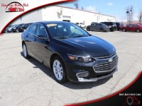 Used, 2018 Chevrolet Malibu LT , Black, 152218-1