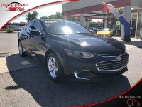 Used, 2018 Chevrolet Malibu LS, Black, 294543-1