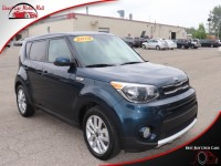 Used, 2018 Kia Soul +, Blue, 611750-1