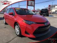 Used, 2018 Toyota Corolla LE, Red, 821905-1
