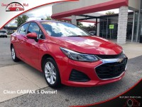 Used, 2019 Chevrolet Cruze LT, Red, 142404-1