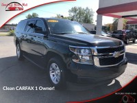 Used, 2019 Chevrolet Suburban LT 4WD, Black, 345977-1