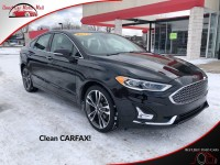 Used, 2019 Ford Fusion Titanium, Black, 184341-1