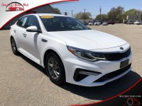 Used, 2020 Kia Optima LX, White, 382410-1