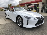 Used, 2021 Lexus LC  500 Convertible, White, 100494-1