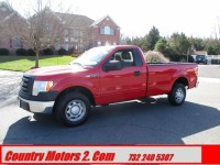 Used, 2012 Ford F-150 XL, Red, 41380-1
