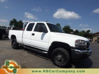 Used, 2004 GMC Sierra 2500HD SLT 4WD, White, 26966A-1