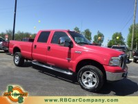 Used, 2006 Ford Super Duty F-350 SRW Lariat 4WD, Red, 26118A-1