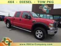 Used, 2008 Ford Super Duty F-250 XLT 4WD, Red, 30323A-1