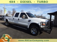 Used, 2008 Ford Super Duty F-350 SRW XLT 4WD, White, 29863A-1