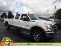 Used, 2011 Ford Super Duty F-250 Lariat 4WD, White, 25917-1