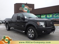 Used, 2012 Ford F-150 4WD FX4, Black, 28406A-1