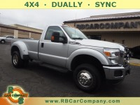 Used, 2013 Ford Super Duty F-350 DRW Pickup XLT 4WD, Gray, 30286-1