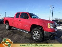 Used, 2013 GMC Sierra 2500HD SLE 4WD, Red, 26769-1