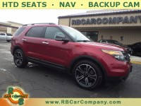 Used, 2014 Ford Explorer 4WD 4dr Sport, Red, 30360A-1