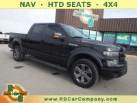 Used, 2014 Ford F-150 FX4 4WD, Black, 30644A-1