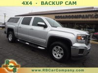 Used, 2014 GMC Sierra 1500 SLE 4WD, Gray, 30588-1