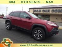 Used, 2014 Jeep Cherokee 4WD 4dr Trailhawk, Red, 30215-1