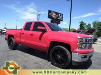 Used, 2015 Chevrolet Silverado 1500 LT Double Cab, Red, 27171-1