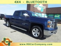 Used, 2015 Chevrolet Silverado 1500 LT 4WD, Blue, 29023-1