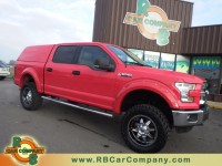 Used, 2015 Ford F-150 XLT 4WD, Red, 26371-1