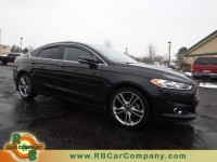 Used, 2015 Ford Fusion 4dr Sdn Titanium AWD, Black, 28362-1