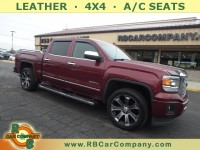 Used, 2015 GMC Sierra 1500 Denali 4WD, Red, 30590-1
