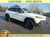 Used, 2015 Jeep Cherokee 4WD 4dr Trailhawk, White, 31624-1