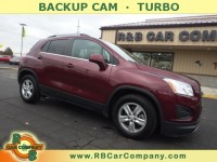 Used, 2016 Chevrolet Trax FWD 4dr LT, Red, 30195-1