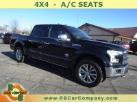 Used, 2016 Ford F-150 King Ranch 4WD, Black, 30712-1
