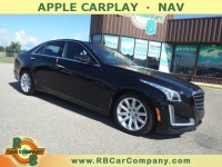 Used, 2017 Cadillac CTS Sedan 4dr Sdn 3.6L Premium Luxury AWD, Black, 31090-1
