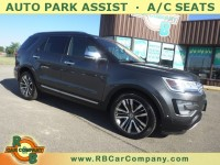Used, 2017 Ford Explorer Platinum 4WD, Gray, 31158-1