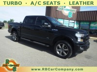 Used, 2017 Ford F-150 Lariat 4WD, Black, 31083-1