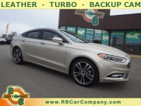 Used, 2017 Ford Fusion Titanium FWD, Gold, 29783-1