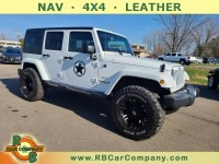 Used, 2017 Jeep Wrangler Unlimited Sahara 4WD , White, 31676-1