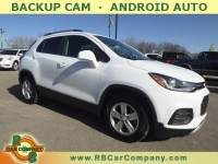 Used, 2018 Chevrolet Trax FWD 4dr LT, White, 32191-1