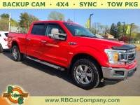 Used, 2018 Ford F-150 XLT, Red, 32359-1