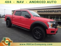 Used, 2018 Ford F-150 XLT 4WD, Red, 30770-1